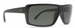 VonZipper Snark Sunglasses<BR>Black Gloss/Grey