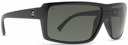 VonZipper Snark Sunglasses<br>Black Gloss/Grey Poly Polarized