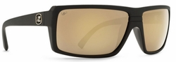 VonZipper Snark Sunglasses<br>Black Satin/Gold Glo Poly Polar
