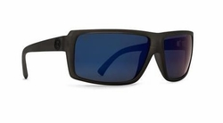 VonZipper Snark Sunglasses<br>Charcoal Satin/Poly Polarized