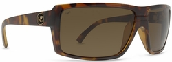 VonZipper Snark Sunglasses<br>Tortoise/Wildlife Bronze Poly Polarized