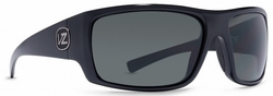 VonZipper Suplex Sunglasses<BR>Black/Grey