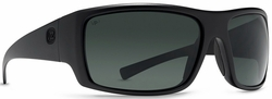 VonZipper Suplex Sunglasses<br>Black Satin/Full Frontal Grey Poly Polarized