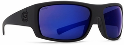 VonZipper Suplex Sunglasses<br>Black Satin/Wild Blue Flash Polar
