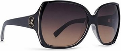 VonZipper Trudie Sunglasses<BR>Black Crystal/Gradient