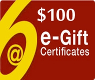 $100 Gift Certificate - Via Email