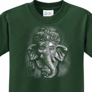 3D Ganesha Darks Kids Yoga Shirts