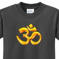 3D OM Kids Yoga Shirts