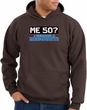 50th Birthday Hooded Hoodie Funny Me 50 Years Brown Hoody Sweatshirt