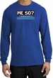 50th Birthday Long Sleeve Shirt - Funny Me 50 Years Royal Longsleeve