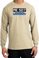 50th Birthday Long Sleeve Shirt - Funny Me 50 Years Sand Longsleeve