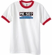 50th Birthday Ringer T-shirt Funny Me 50 Years White/Red Tee Shirt