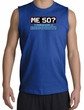50th Birthday Shooter - Funny Me 50 Years Adult Royal Muscle Shirt