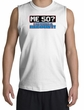 50th Birthday Shooter - Funny Me 50 Years Adult White Muscle Shirt