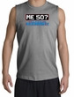 50th Birthday Shooter - Funny Me 50 Years Sports Grey Muscle Shirt