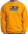 50th Birthday Sweatshirt - Funny Me 50 Years Gold Sweat Shirt