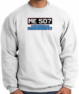 50th Birthday Sweatshirt - Funny Me 50 Years White Sweat Shirt