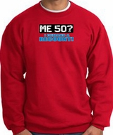 50th Birthday Sweatshirts Me 50 Years Demand Recount Sweat Shirts