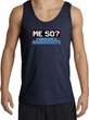 50th Birthday Tanktop - Funny Me 50 Years Adult Navy Tank Top