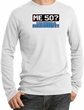 50th Birthday Thermal Shirt - Me 50 Years Longsleeve White Thermal