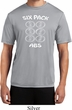 6 Pack Abs Beer Funny Mens Moisture Wicking Shirt