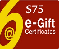 $75 Gift Certificate - Via Email