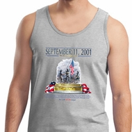 9-11 Never Forget Mens Tank Top