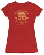 A Christmas Story Juniors Shirt Chop Suey Palace Co Red T-Shirt