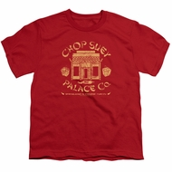 A Christmas Story Kids Shirt Chop Suey Palace Co Red T-Shirt
