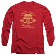 A Christmas Story Long Sleeve Shirt Chop Suey Palace Co Red Tee T-Shirt