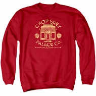 A Christmas Story Sweatshirt Chop Suey Palace Co Adult Red Sweat Shirt