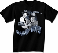 Abbott & Costello T-shirt I've Been a Bad Boy Adult Tee T-shirt