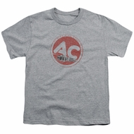 AC Delco Kids Shirt Fire Ring Spark Plugs Athletic Heather T-Shirt