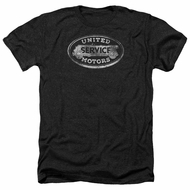 AC Delco Shirt United Motors Service Heather Black T-Shirt