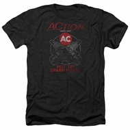 AC Delco Shirt Hot Tip Spark Plugs Heather Black T-Shirt