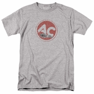 AC Delco Shirt Fire Ring Spark Plugs Athletic Heather T-Shirt