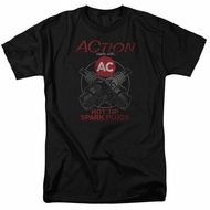 AC Delco Shirt Hot Tip Spark Plugs Black T-Shirt
