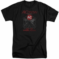 AC Delco Shirt Hot Tip Spark Plugs Tall Black T-Shirt