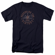 AC Delco Shirt Spark Plugs Victory Navy Blue T-Shirt