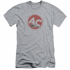 AC Delco Slim Fit Shirt Fire Ring Spark Plugs Athletic Heather T-Shirt