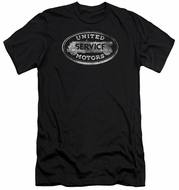 AC Delco Slim Fit Shirt United Motors Service Black T-Shirt