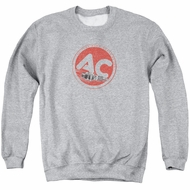 AC Delco Sweatshirt Fire Ring Spark Plugs Adult Athletic Heather Sweat Shirt