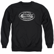 AC Delco Sweatshirt United Motors Service Adult Black Sweat Shirt