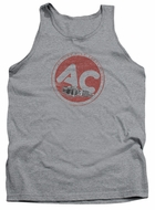 AC Delco Tank Top Fire Ring Spark Plugs Athletic Heather Tanktop