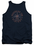 AC Delco Tank Top Spark Plugs Victory Navy Blue Tanktop