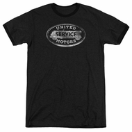 AC Delco United Motors Service Black Ringer Shirt