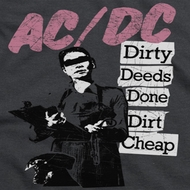 ACDC Dirty Deeds Shirts