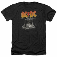 ACDC Shirt Hell's Bells Heather Black T-Shirt