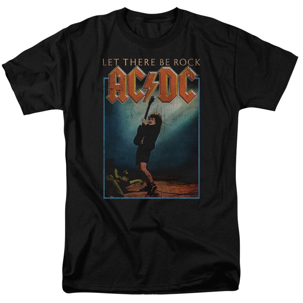 acdc shirt let there be rock black t shirt acdc let. Black Bedroom Furniture Sets. Home Design Ideas
