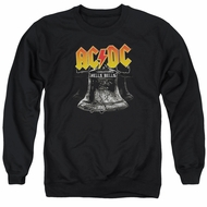 ACDC Sweatshirt Hell's Bells Adult Black Sweat Shirt